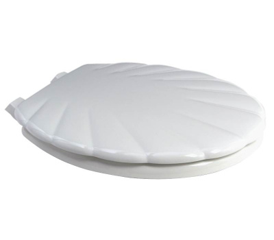 Bemis 22EC-000/22-000 Mayfair White Plastic Toilet Seat