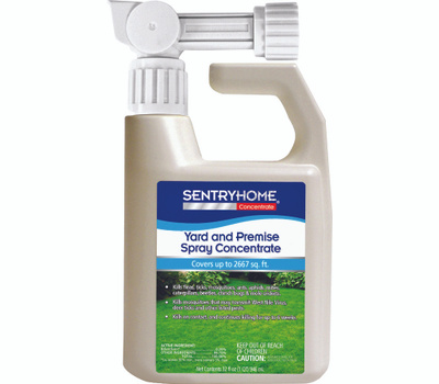 Sergeants 02117 Sentry Home Yard And Premise Flea And Tick Spray Concentrate For Dogs And Cats 32 Ounce