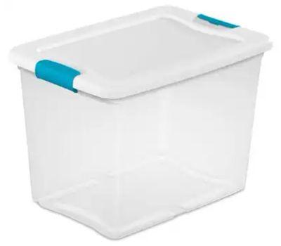 Sterilite 14958006 25 Quart See Latching Box