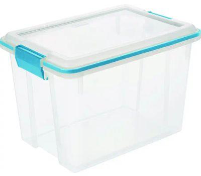Sterilite 19324306 Box Gasket Blue Aquarium 20 Quart