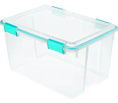 Sterilite 19344304 Box Gasket Blue Aquarium 54 Quart
