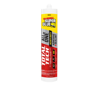 Super Glue Pacer Tech 11711001 9.8 Ounce Wht Cart Sealant