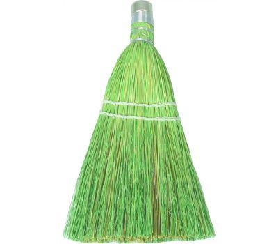 Birdwell Cleaning 378-24 Whisk Broom Corn & Sotol Fiber Bristle 10 Inch Overall