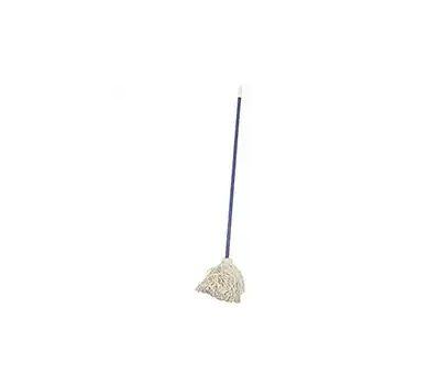 Birdwell Cleaning 9624-6 Deck Wet Mop Cotton #24 Vinyl Coated Steel 48 Inch Handle