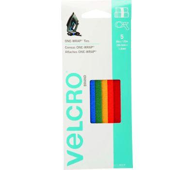 Velcro Brands 90438 One Wrap One-Wrap Multi Color Strap