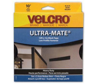 Velcro Brands 91100 1 By 10 Black Tape