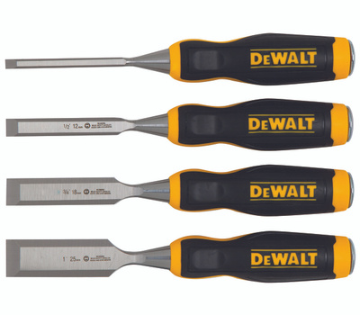 DeWalt DWHT16063 Wood Chisel Set 4 Piece