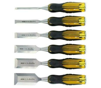 Stanley Tools 16-971 Stanley Fatmax Thru-Tang Chisel Set, 6-Piece