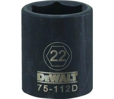 DeWalt DWMT75112OSP Socket Impact 1/2dr 6pt 22mm