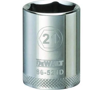 DeWalt DWMT86521OSP Socket 1/2 Drive 6pt 21mm