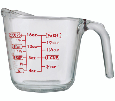 Anchor Hocking 55177AHG18 Cup Measuring 2 Cup