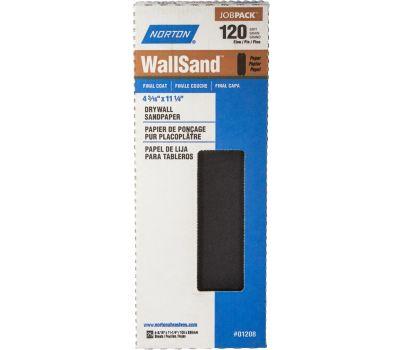 Norton 01208 Wallsand Drywall Sanding 1/2 Sheet 120 Grit