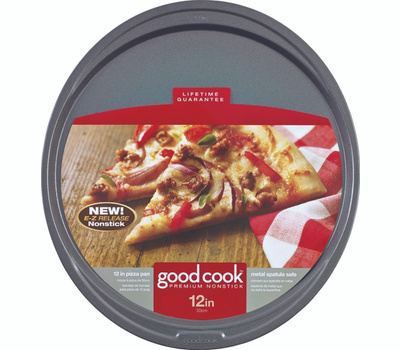 Bradshaw 04036 Good Cook Pizza Pan Nonstick 12 Inch