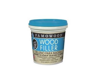 Eclectic 40022134 Famowood Wood Filler, Liquid, Paste, Slight, Red Oak, 1 Pt