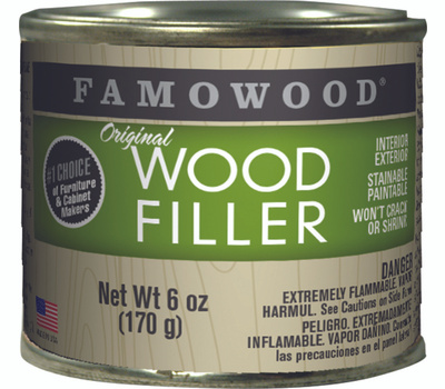 Eclectic 36141122 Famowood Filler Wood In Ex Mahogany 6 Ounce