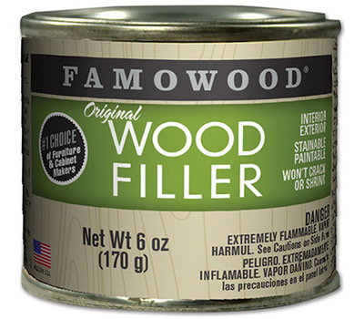 Eclectic 36141124 Famowood 6 Ounce Maple Pro Wood Filler