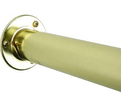 Knape & Vogt BC-0039-3 John Sterling Metal Pole Sockets Brass Plated