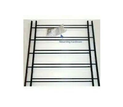 Knape & Vogt 1125-DB John Sterling Child Safety Window Guards Black 5 Bar 25 By 23 To 42 Inch