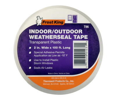 Thermwell T96H Frost King 2 Inch By 100 Foot Weather Seal Tape