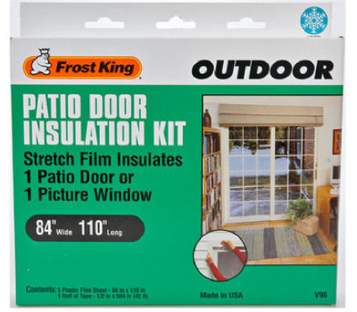 Thermwell V96H Frost King 84 Inch By 110 Inch Patio Door Insulation Kit