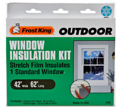 Thermwell V93H Frost King 42 By 62 Window Insulation Kit For Standard Size Window