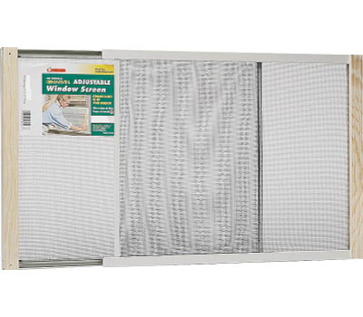 Thermwell AWS1037 Frost King 10 By 21 To 37 Inch Adjustable Extension Window Screen
