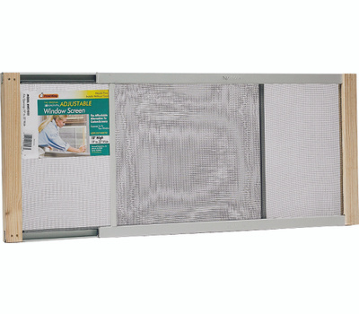 Thermwell AWS1833 Frost King 18 By 20 To 33 Inch Adjustable Extension Window Screen