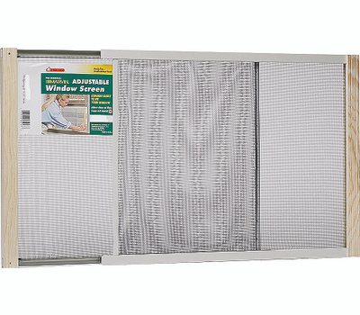 Thermwell AWS1837 Frost King 18 Inch Tall 22 To 37 Inch Adjustable Window Screen