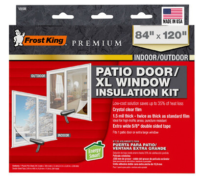 Thermwell V86M Frost King Wndw Insul Shrink Kit 84x110in