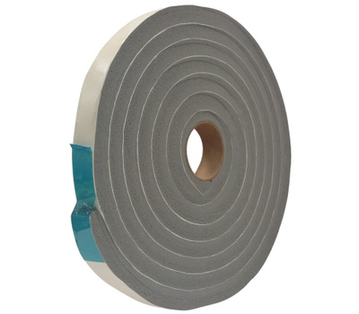 Thermwell V734H Vinyl Foam Tape Gry 3/4 Inch Wide 1/2 Inch Thick By 10 Foot Long