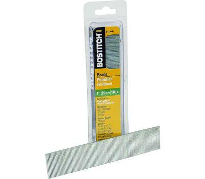 Stanley Bostitch BT1309B Stick Brad Nails 1 Inch 18-Gauge 3000 Pack