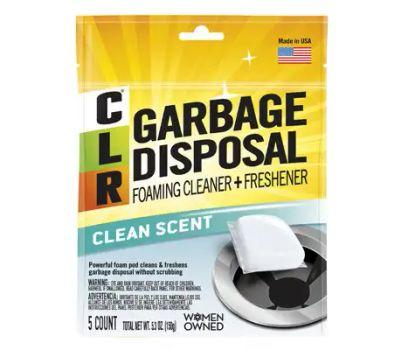 Jelmar GDC-6 CLR Garbage Disposal Cleaner Pouch, Powder, Peach