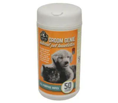 Multipet 68504 Groom Ap Pet Wipes 50 Pack