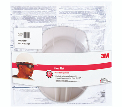 3M CHH-P-W12 White Hard Hat