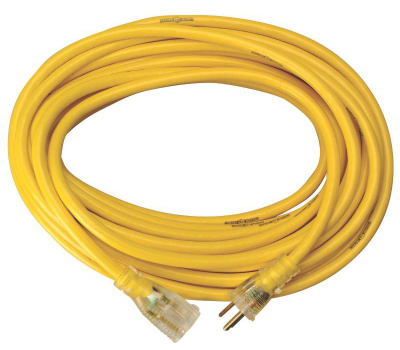 Southwire 2885AC Yellow Jacket 15 Amp 12 Gauge 100 Foot Extension Cord