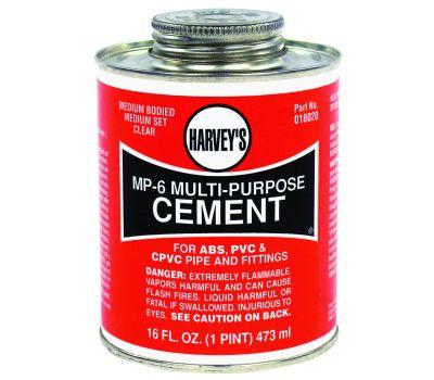 William Harvey 018020-12 MP6 Cement Multi-Purpose 16 Ounce