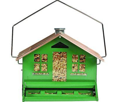 Perky Pet 339 Squirrel-Proof Wild Bird Feeder, Home, 8 Pound, Metal, Hanging/Pole Mounting