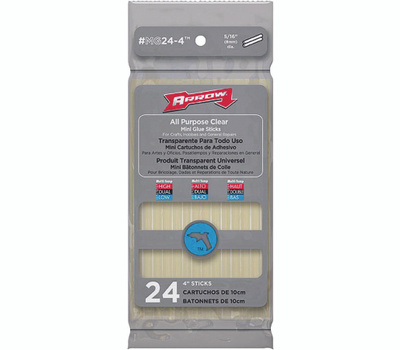 Arrow Fastener MG24-4 Mini Glue Stick 4 Inch
