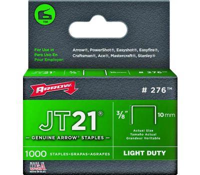 Arrow Fastener 276 3/8 Inch Staples Pack Of 1000
