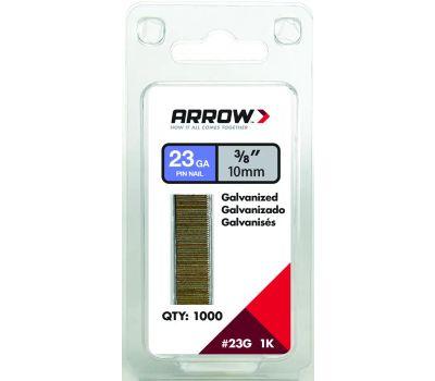 Arrow Fastener 23G10-1K 3/8 Inch Pin Nail 23Gauge 1000 Pack