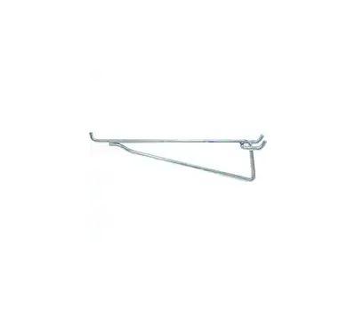 Crawford 14580 Heavy Duty Pegboard Hook Shelf Brackets 8 Inch 2 Pack