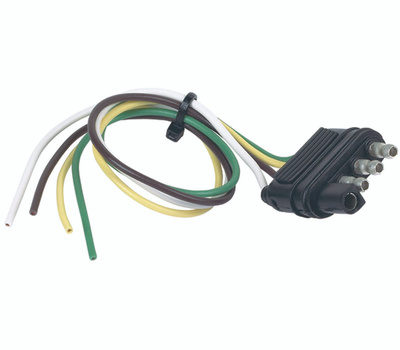 Hopkins 48115 4 Pole Flat Male Connector