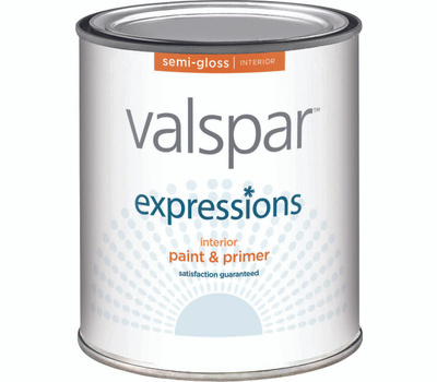 Valspar 17061 Expressions Interior Semi Gloss White Quart