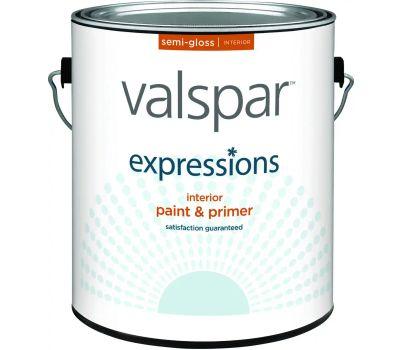 Valspar 17061 Expressions Interior Semi Gloss White Gallon