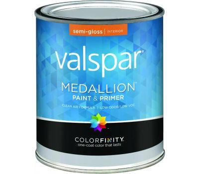 Valspar 2400 Medallion White Interior Semi Gloss Latex
