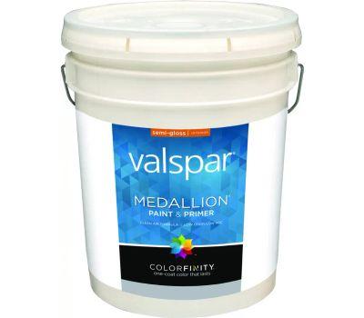 Valspar 2400 Medallion White Semi Gloss Latex Lifetime