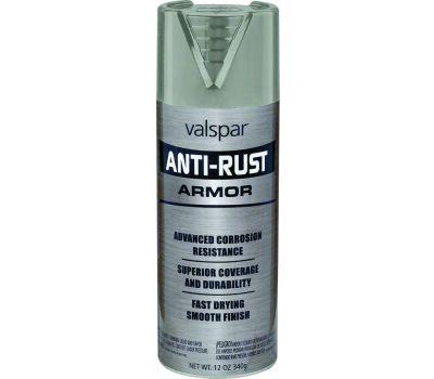 Valspar 21934 Anti Rust Gray Gloss Anti Rust Spray Enamel