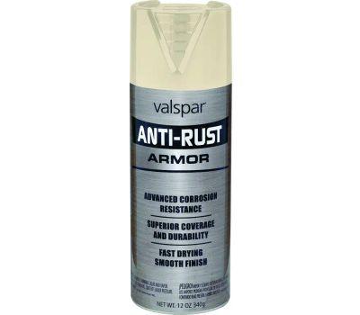 Valspar 21935 Anti Rust Almond Gloss Anti Rust Spray Enamel