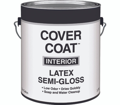 Valspar 457 Cover Coat Contractor Interior Semi Gloss Dover Gallon