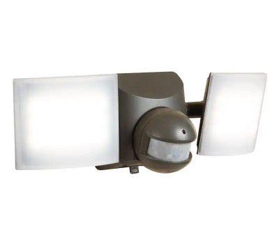 Halo MSLED600 Solar Powered Twin Head Flood Light, 120 V, 50 W, 2-Lamp, Led Lamp, Cool White Light, 680 Lumens